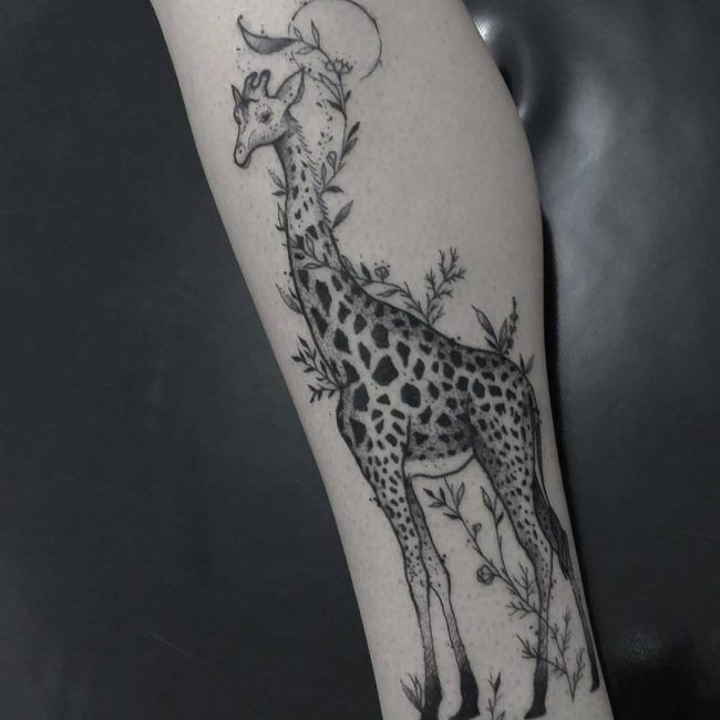 120 Best Giraffe Tattoo Designs Meanings Wild Life On Your Skin