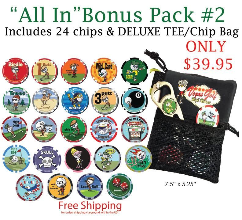 19 Chip VIP Edition with Deluxe Teebag/Chipbag Tee bag