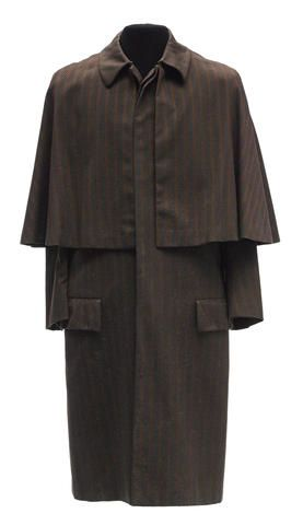 A Rossano Brazzi Inverness coat from