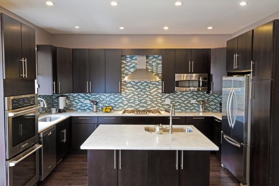 Rooms Viewer Dark Kitchen Cabinets Grey Kitchen Walls Distressed Kitchen Cabinets