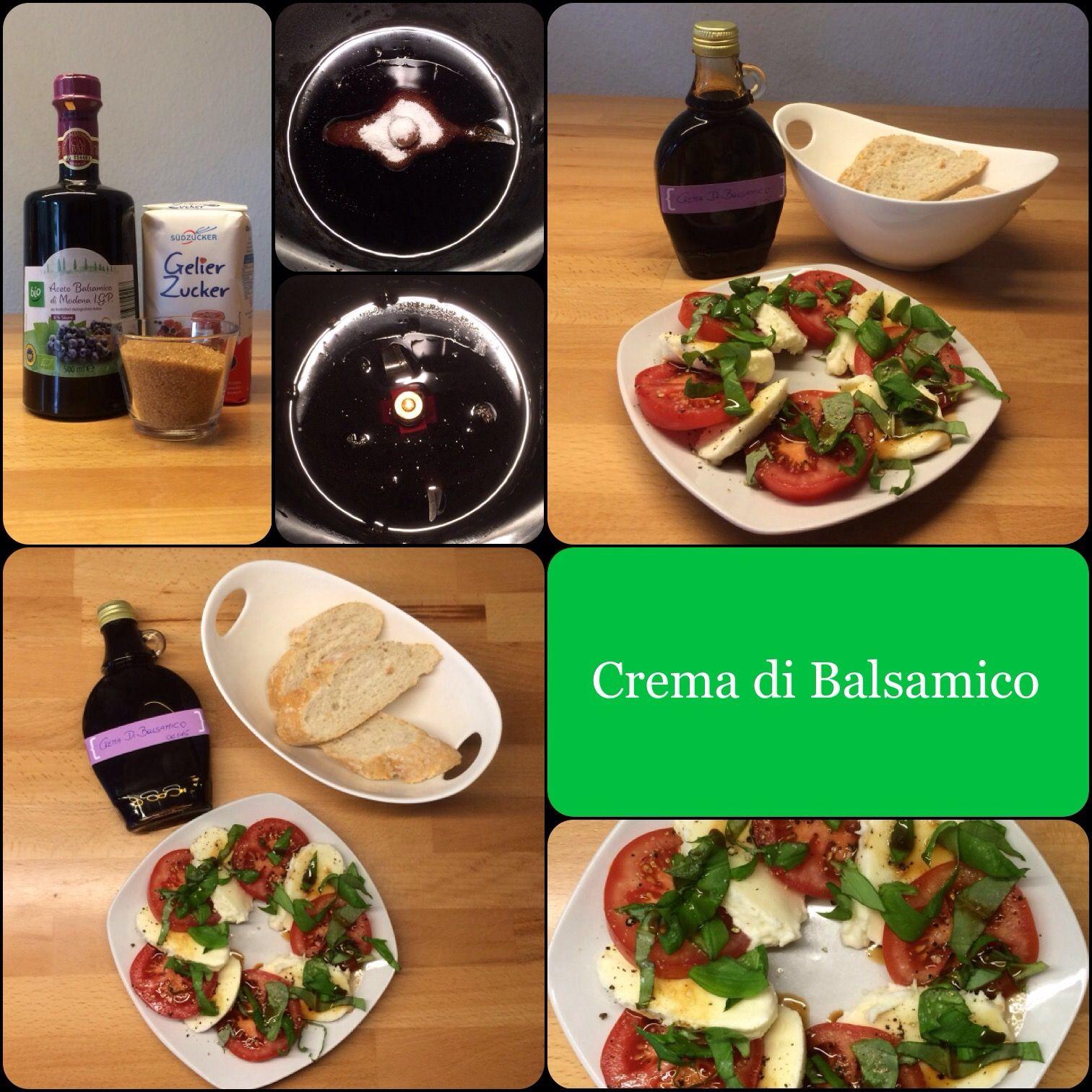 *** Crema di Balsamico * Balsamicocreme ***  schnell gemacht und lecker!  | Das Leben ist zu kurz, um schlechten Wein zu trinken!