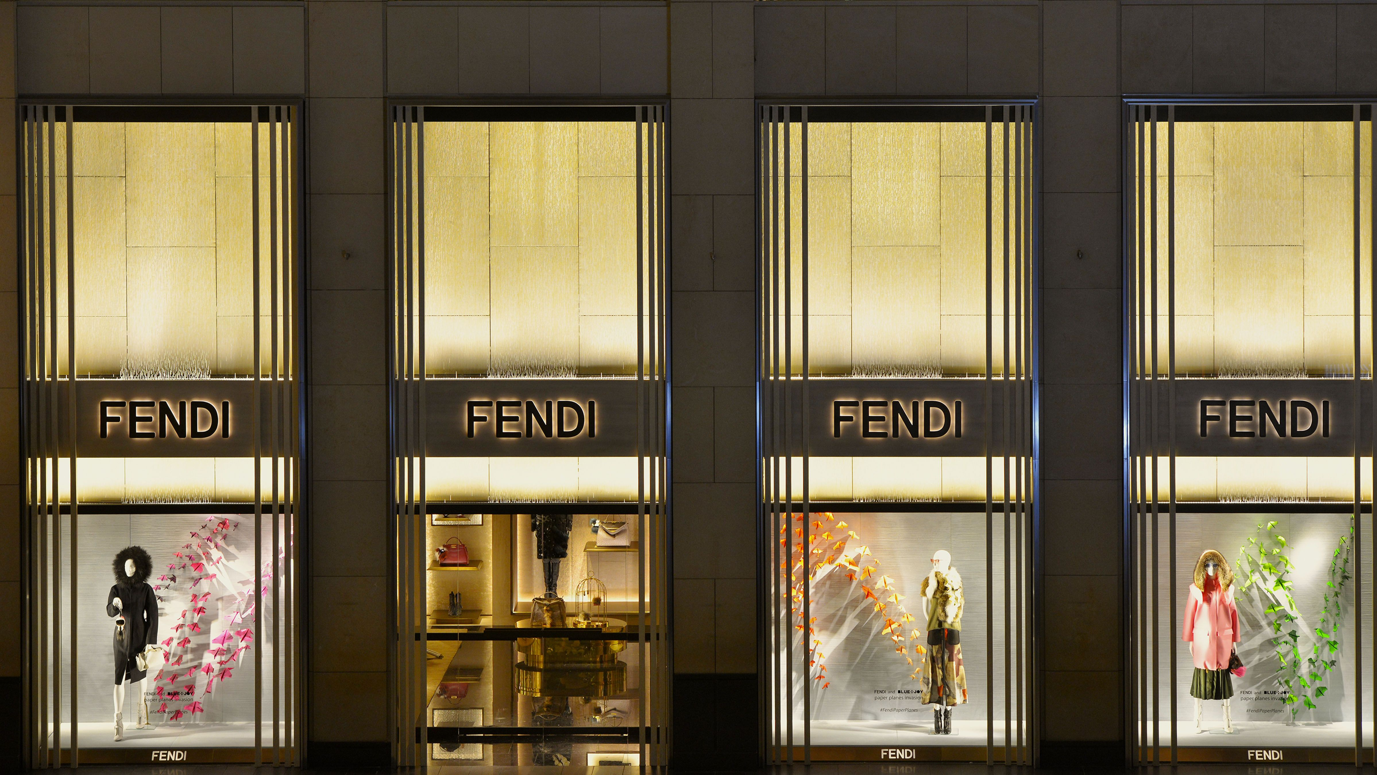 The new Fendi boutique in Landmark, Hong Kong   Fendi Boutiques in ... 63178d3a7df