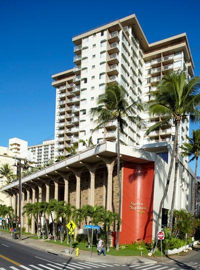 Queen Kapiolani Hotel Waikiki Beach