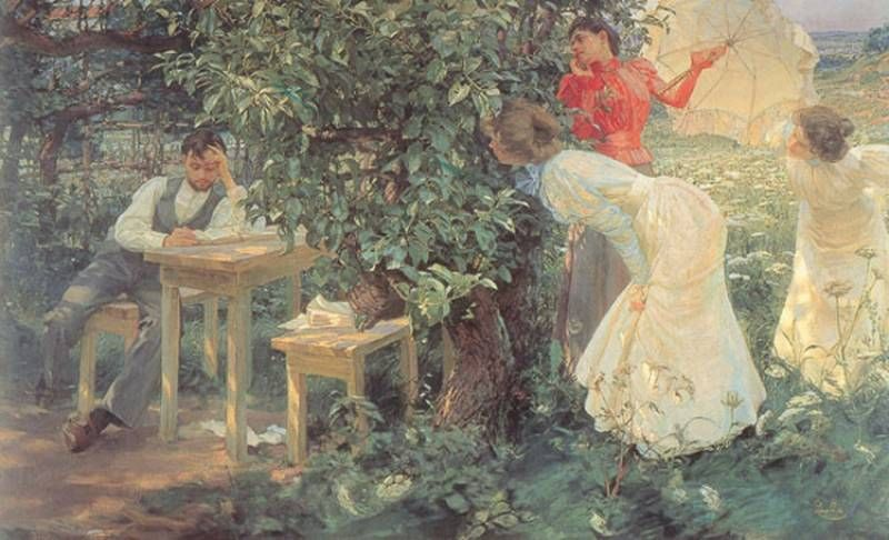 Art's painting collection of Ludmila: Mucha, Alphonse ... |Czech Famous Paintings