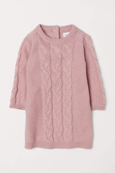 3fb84f0026bf Cable-knit Dress in 2019