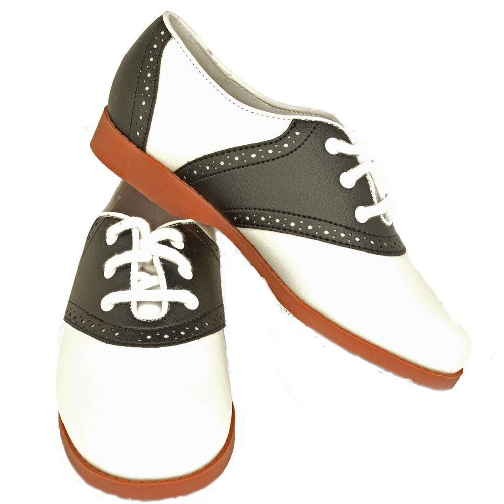 1950s Child Classic Style Oxford Saddle Shoes for Poodle ...