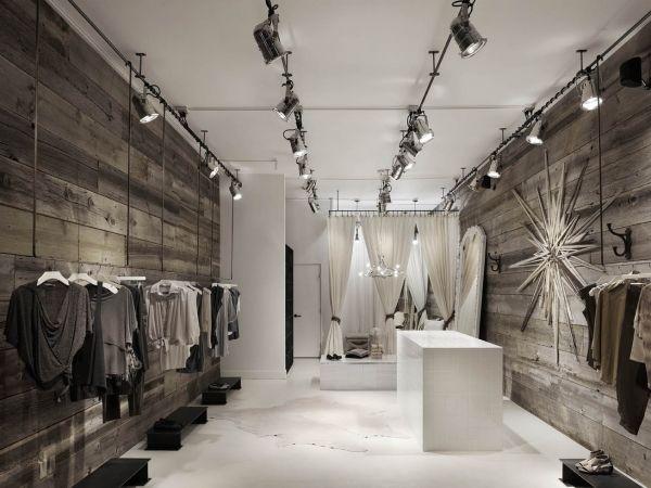 Ruti clothing boutique | Design | Boutique interior