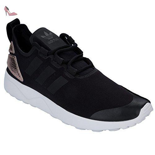 size 40 5e506 6d4be Adidas Originals ZX FLUX ADV VERVE W Chaussures Mode Sneakers Femme Noir - Chaussures  adidas originals