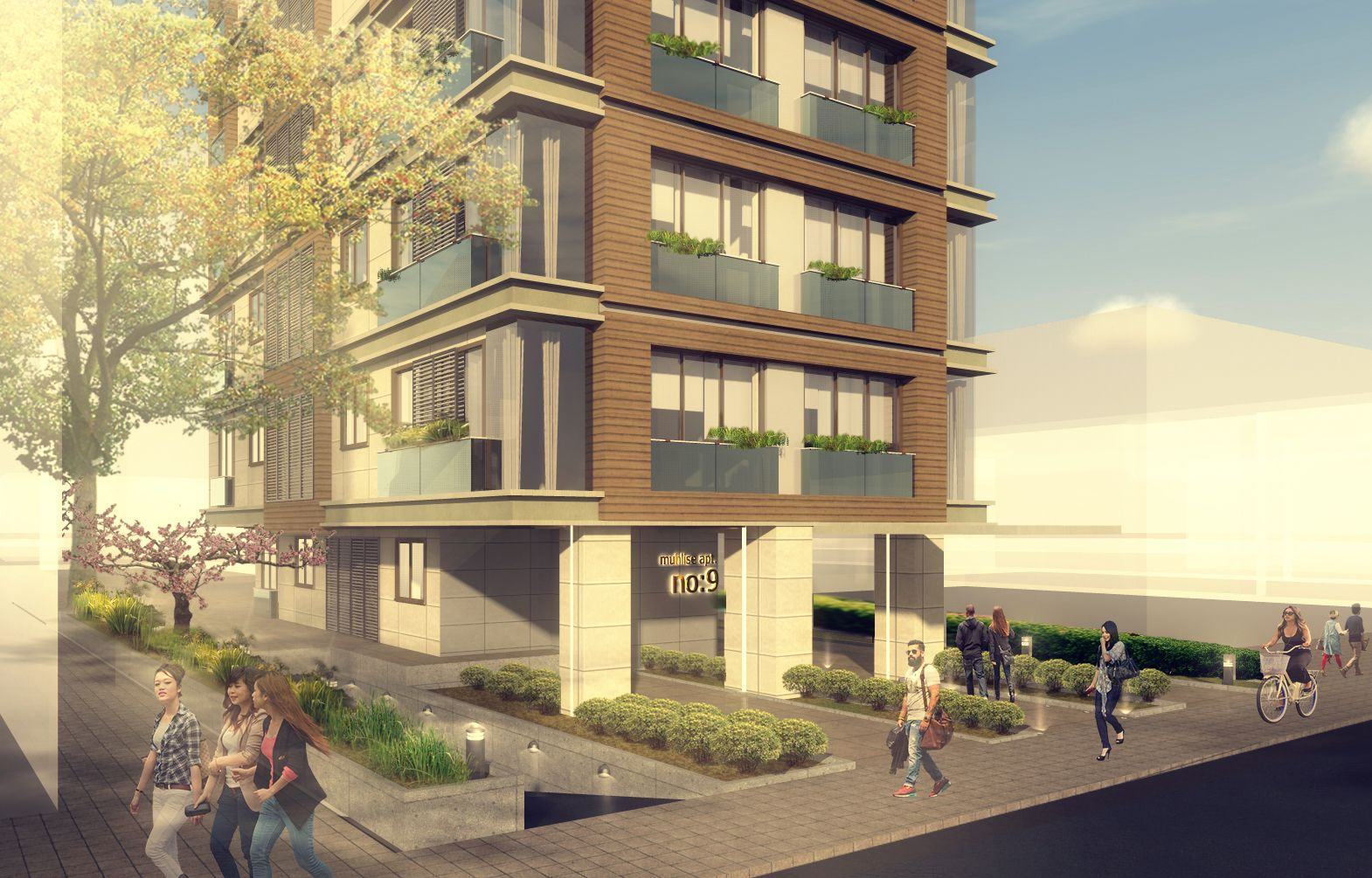 Apartment Building Port Architects designed by Pnar