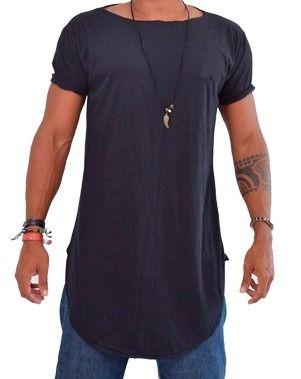 camisa oversized masculina longline promocional  c7854bcee00