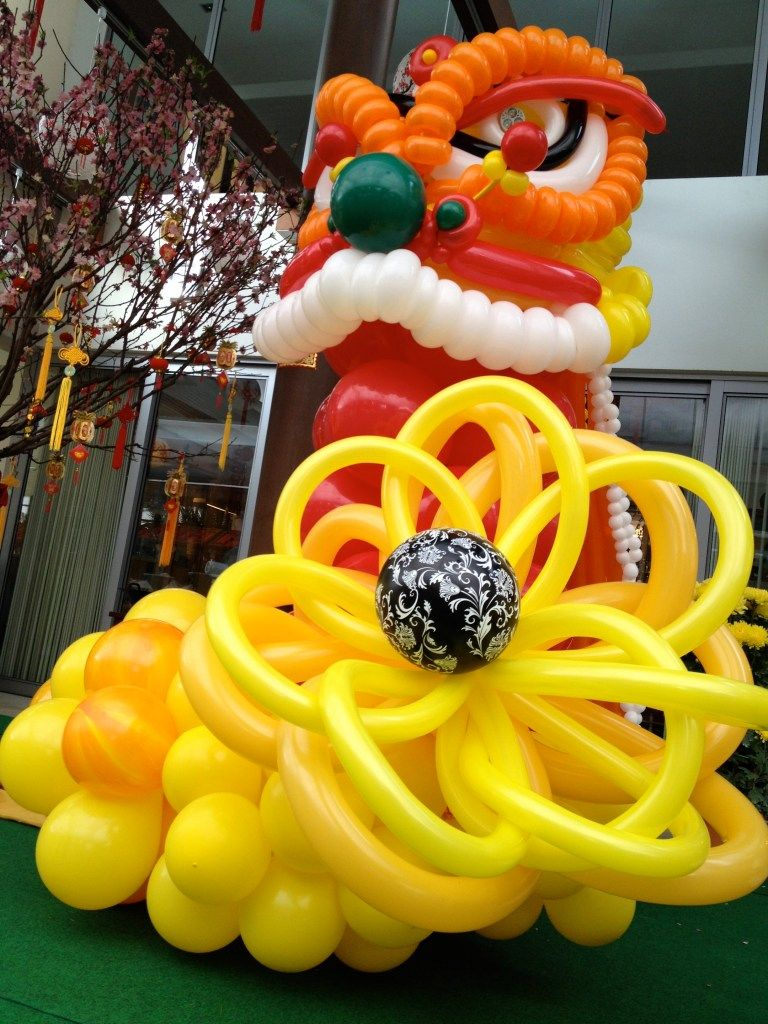 CNY Balloons Decorations in 2020 Balloon decorations