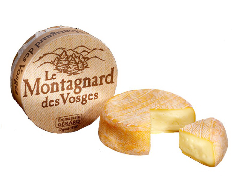 Le Montagnard Cow Milk Pasteurised Milk It S A Cow S Milk Cheese Produced In The Village Of Le Tholy In The Fre Plums Brandy Pasteurizing Milk Cow S Milk
