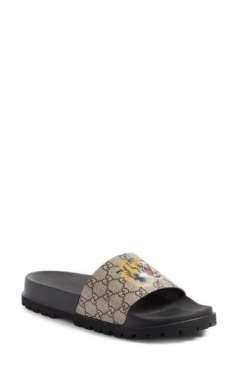 6be55025 Gucci 'Pursuit Treck' Slide Sandal (Men) | Sandals in 2019 | Mens ...