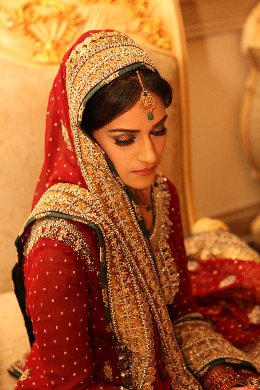 Bridal Makeup- Sweetly Red!