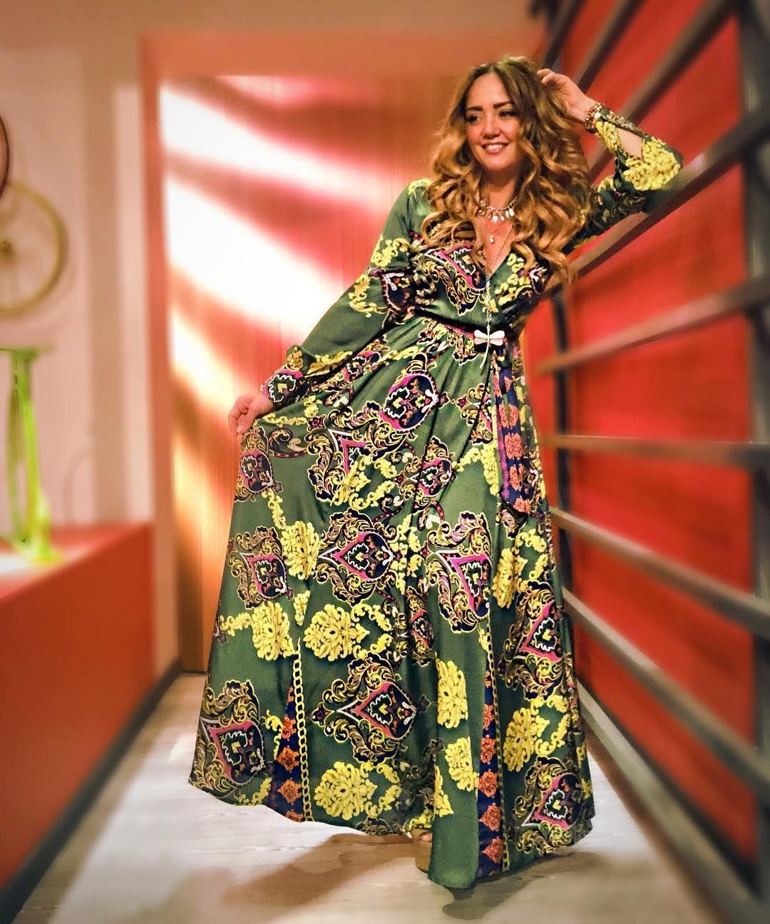 Vestidos hippies verdes