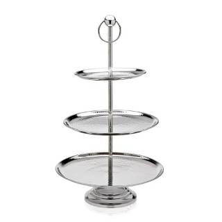 check out the godinger hammered 3 tier server priced at at