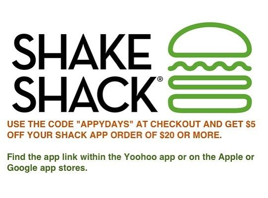 graphic relating to Shake Shack Printable Coupons called Down load and purchase towards the Shake Shack #application conserve $5 with