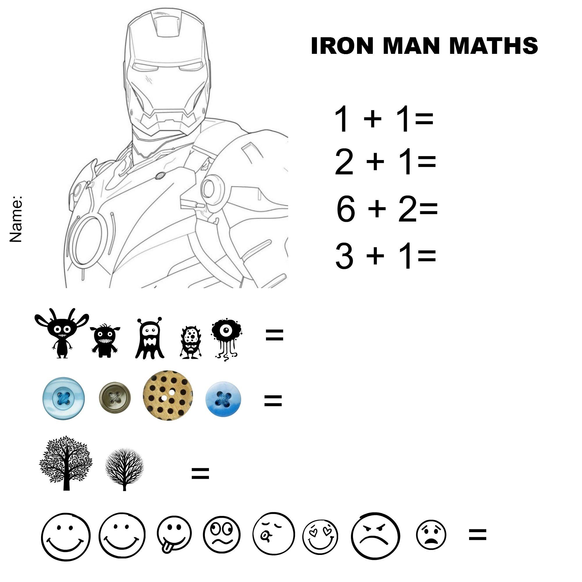 Iron Man Maths