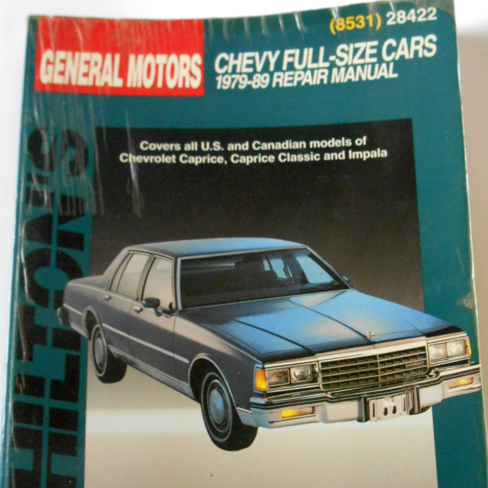 chilton s book chevy full sz 1979 89 car repair manual chevrolet rh pinterest com chevrolet caprice repair manual chevrolet caprice service manual