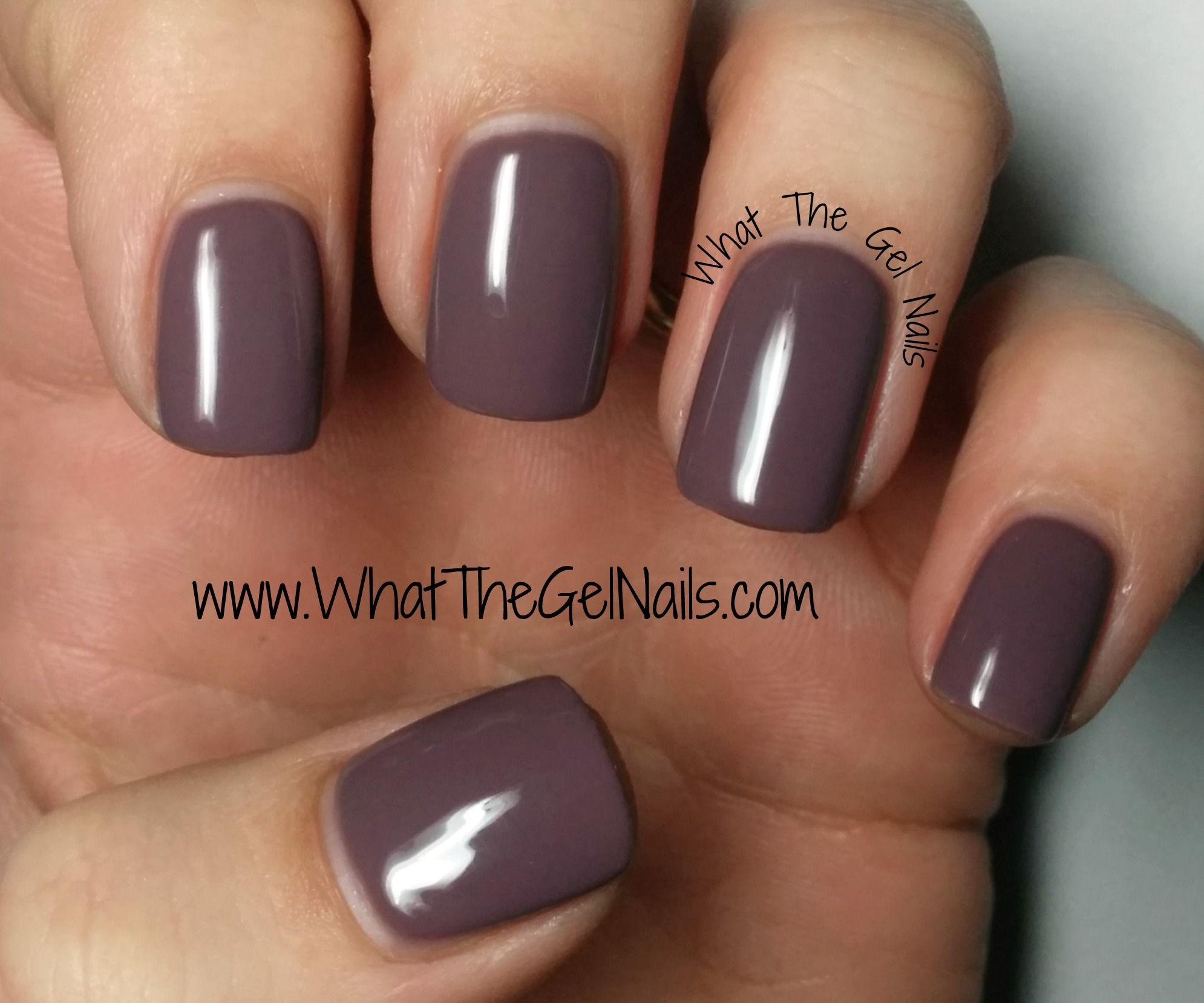 Nails inc gel nail colors and gel nail polish on pinterest - Nail Nail Ibd Smokey Plum Plus More Ibd Just Gel Colors