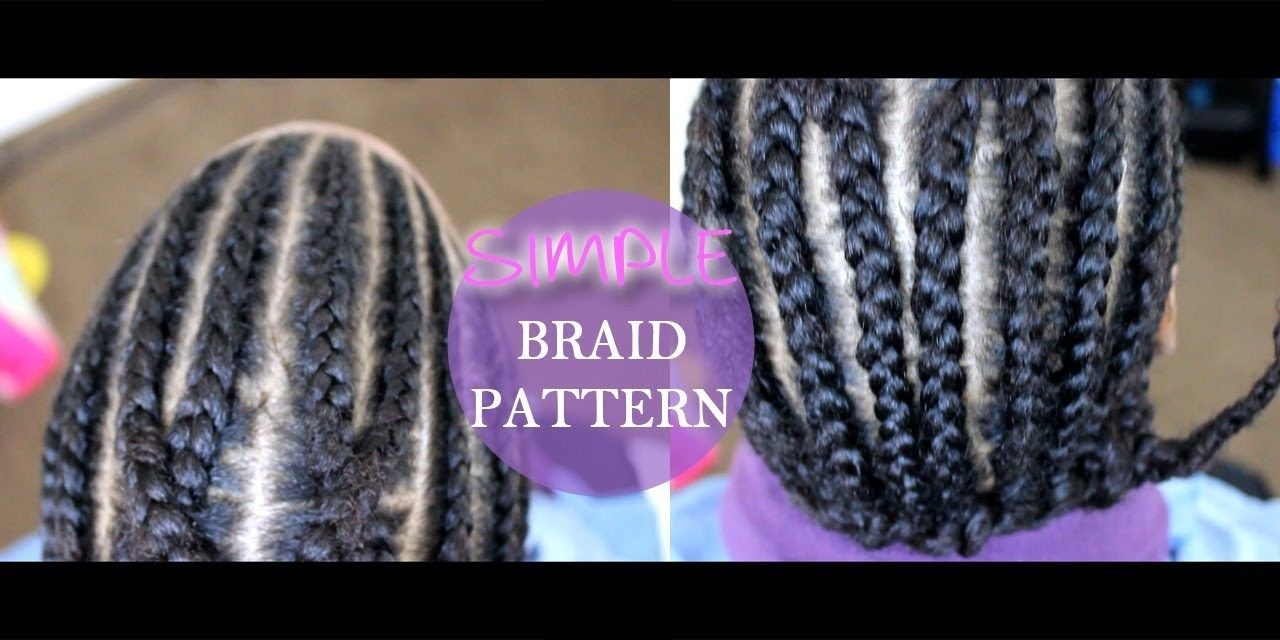 Crochet Braids Pattern Easy Braid Pattern For Crochet Braids Beginner Friendly Youtube #crochetbraids