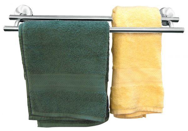 Fackelmann Fusion Handtuchhalter Doppelreling Handtuchhalter