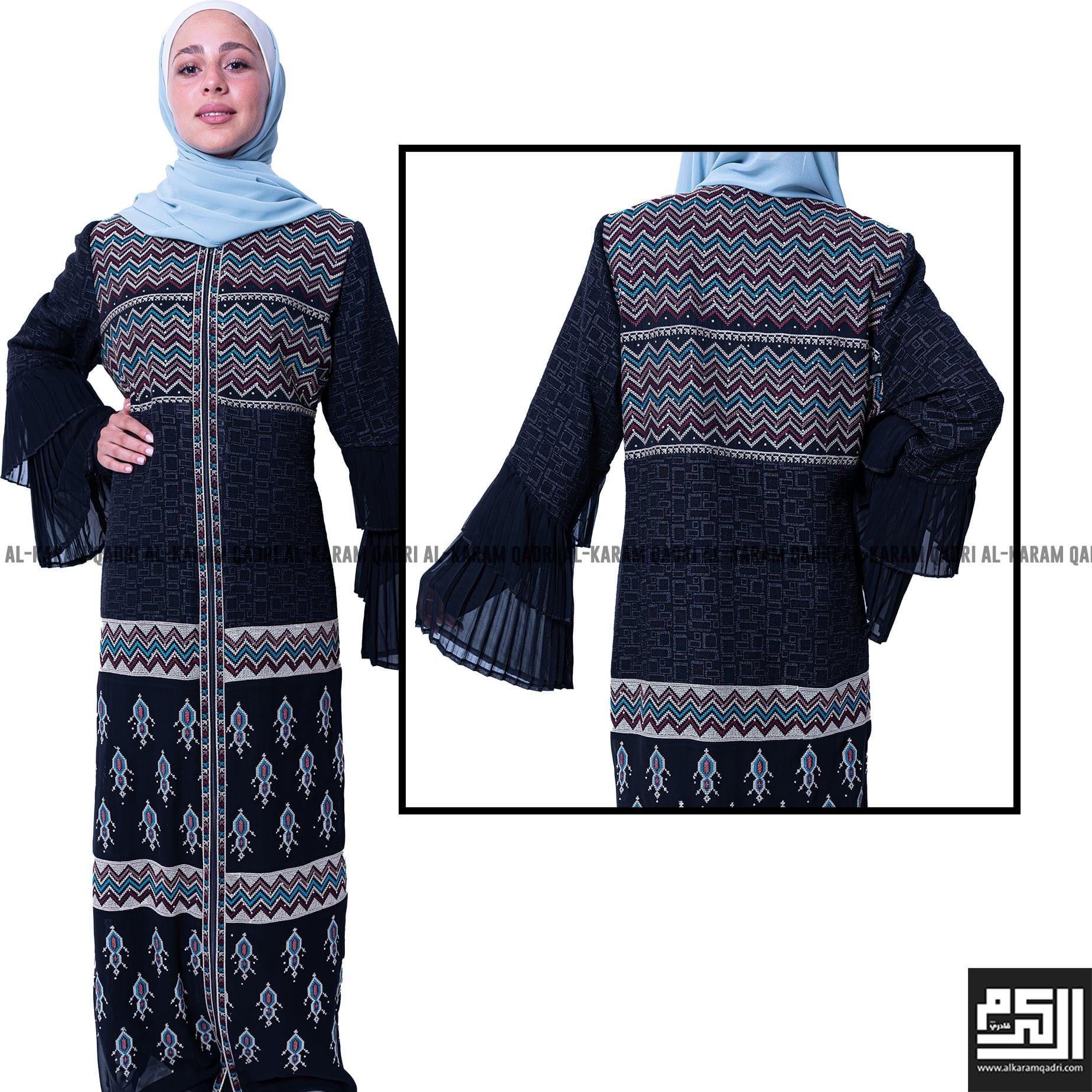Elegant Black Abaya Modest Outfits Clothes Islamic Fashion