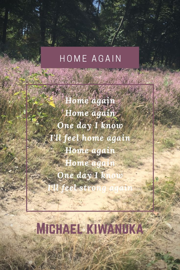 Home Again Home Again One Day I Know Ill Feel Home Again Home Again