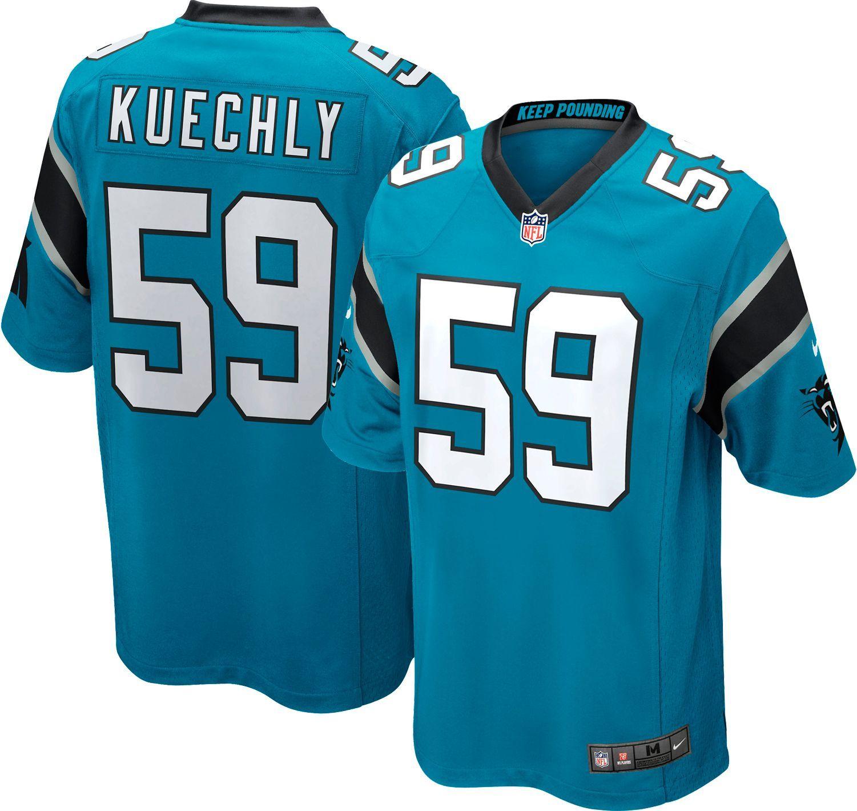 Cheap Nike Men's Home Game Jersey Carolina Luke Kuechly #59 in 2019  for sale