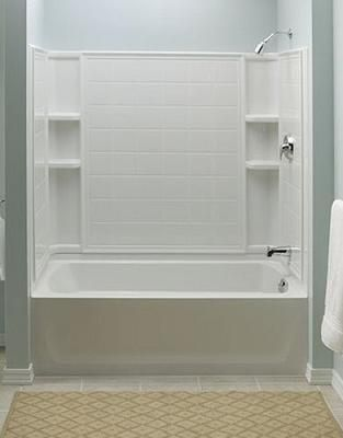 Bathtub Shower Combinations Shower Tubs You39ll Love Fiberglass ...