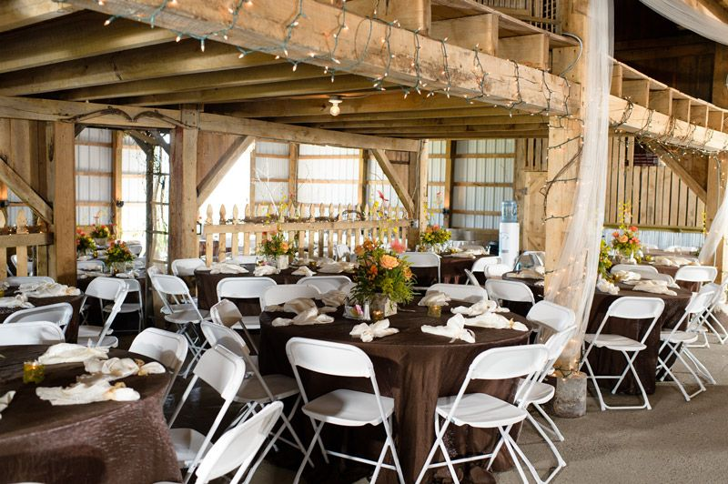 Check Out This Barn Wedding With Rentals From A Classic Party Rental Local Indiana