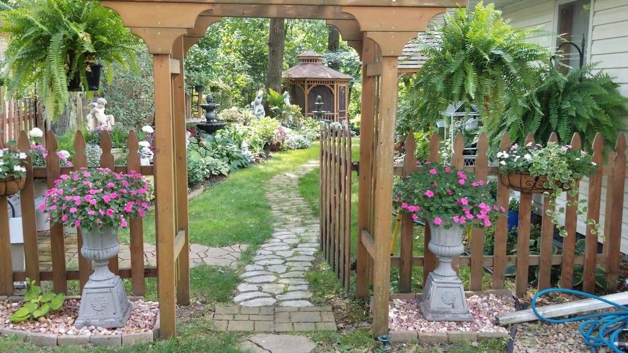 Pin On Backyard Backyard garden tour youtube