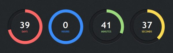 25+ Cool #jQuery Countdown Scripts Using jQuery #countdown #plugins