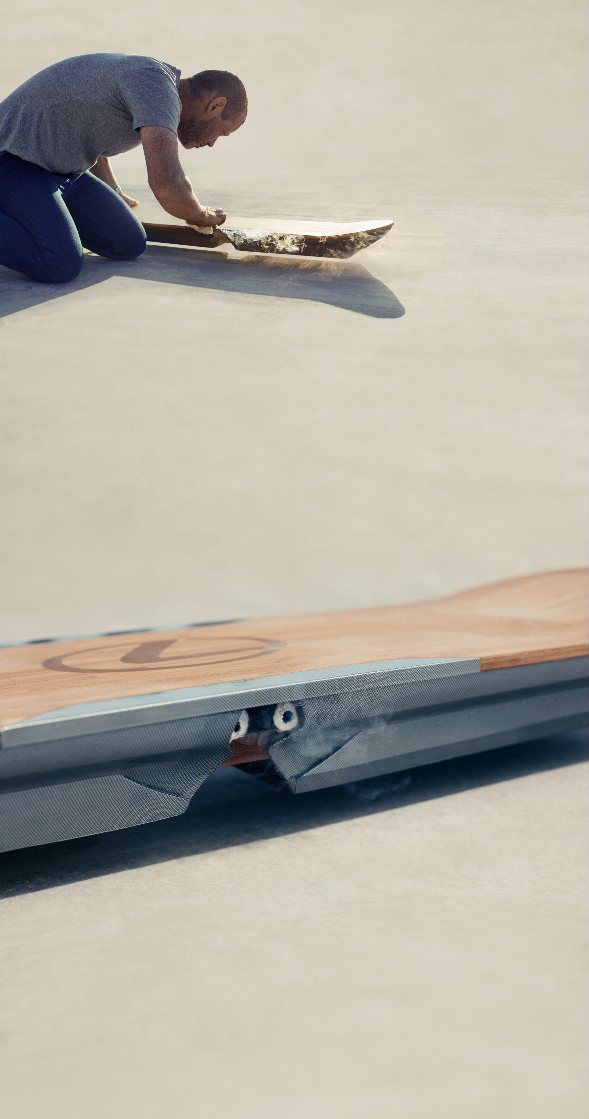 Lexus Hoverboard Price >> Lexus Experience Amazing Slide Skateboard Design Lexus