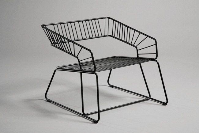Rising Sun Chair #furniture #design