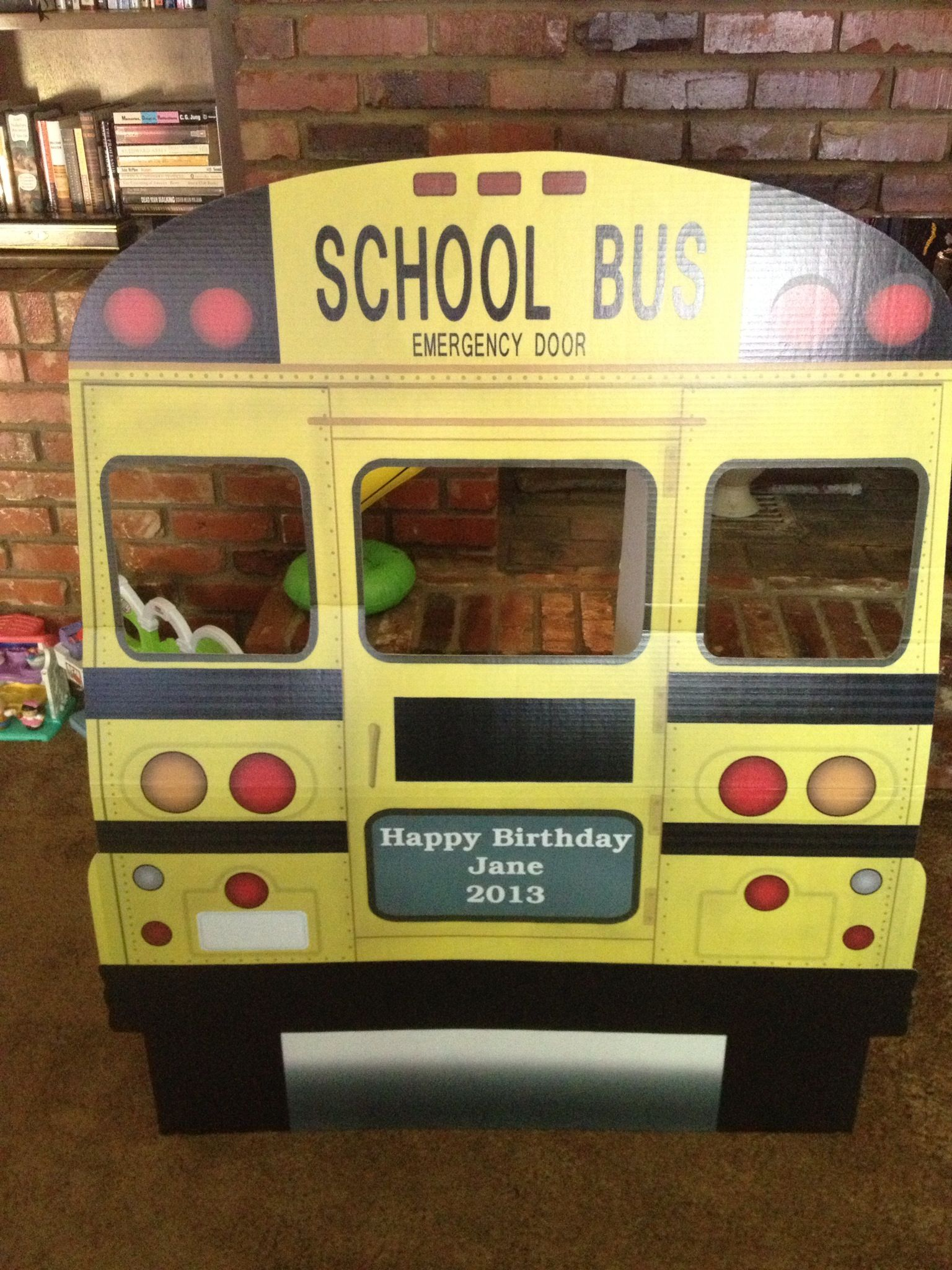 Wheels On The Bus Photo Booth With Images School Bus
