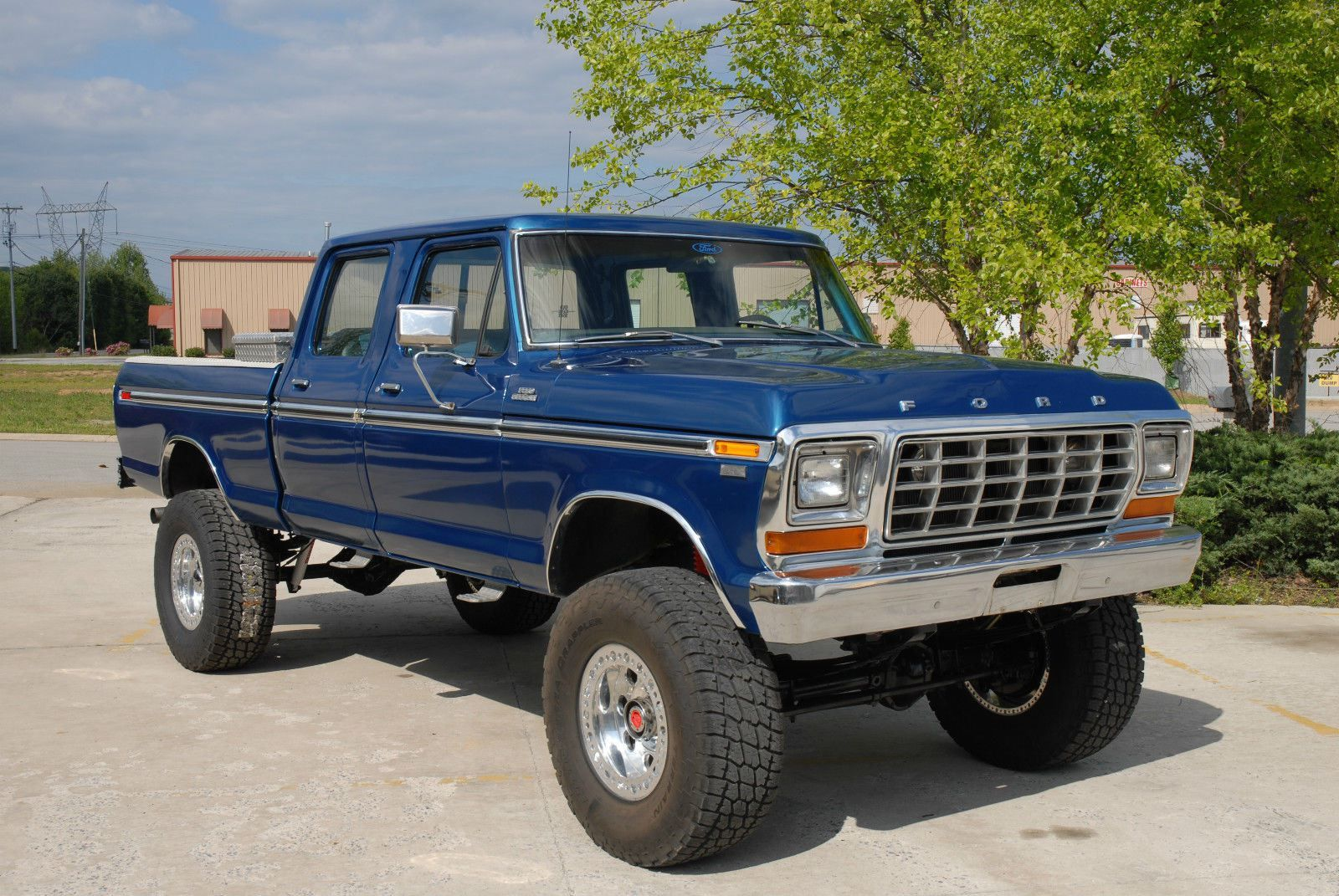 Vintage four wheel drive for sale 1978 ford crew cab
