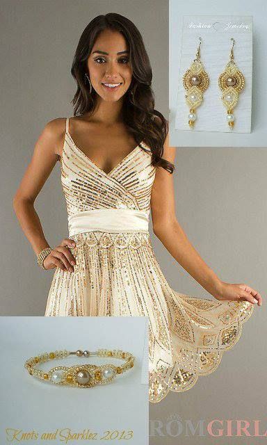 Right on time for Proms, graduations, weddings and more. This sweet dress and my Tiara Bracelet were made to complement each other.
