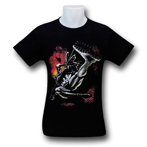 Batman Kick Swing T-Shirt