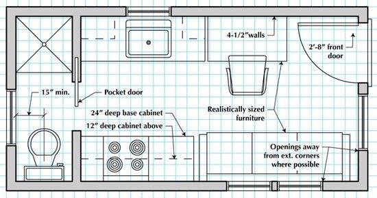 Tiny House Tiny House Floor Plans Cool House Designs House Floor Plans