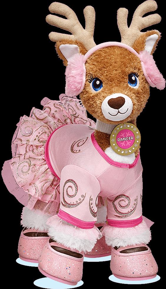 Merry Mission At Build A Bear Build A Bear Reindeer Custom Teddy Bear Teddy Bear Stuffed Animal