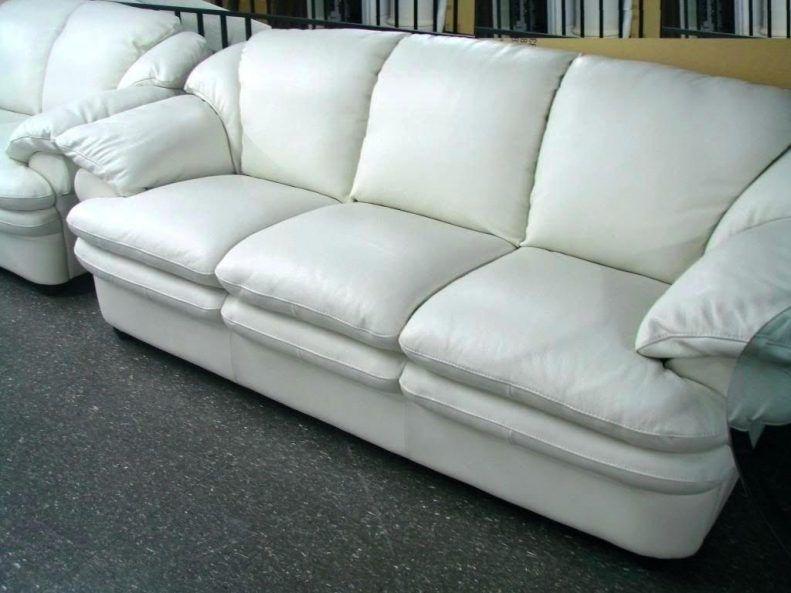 Off White Leder Sofa   Wohnzimmereinrichtung, Leder ...