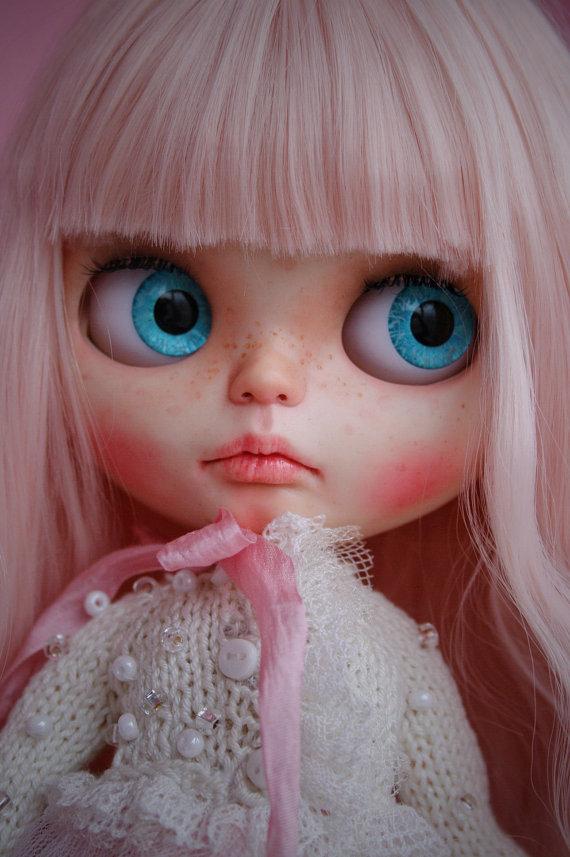 SOLD custom blythe doll  ooak cutest sugar by MYDOLLSBoutiqueStore