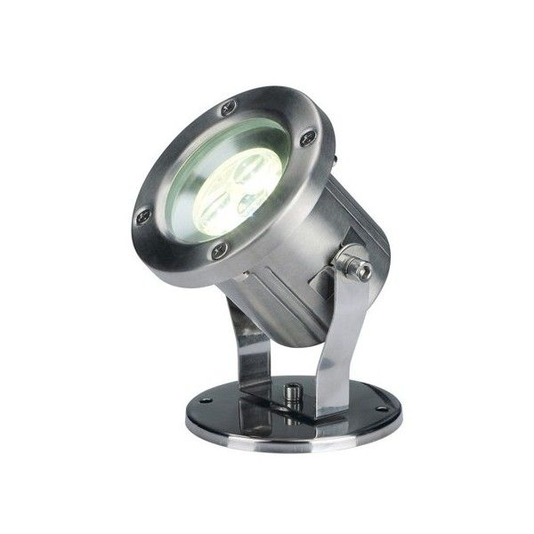 SLV Lighting Nautilus LED 304B Outdoor Floodlight ($394) ❤ Liked On  Polyvore Featuring Home