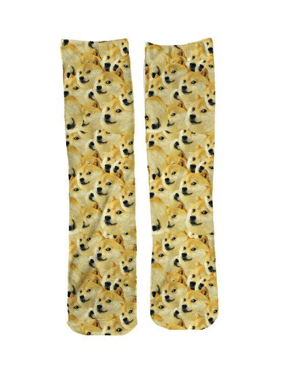 396b908334 Wow Doge Socks