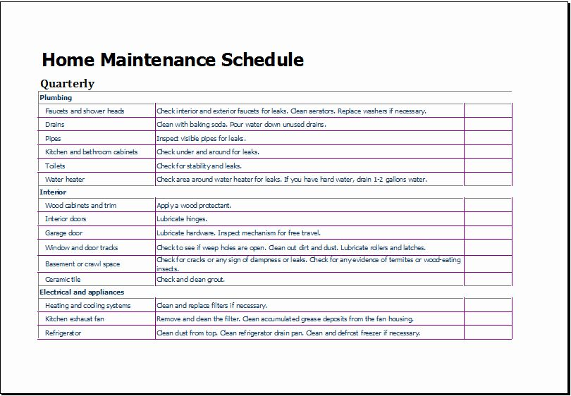 Lawn Mowing Schedule Template Elegant Lawn Maintenance Schedule
