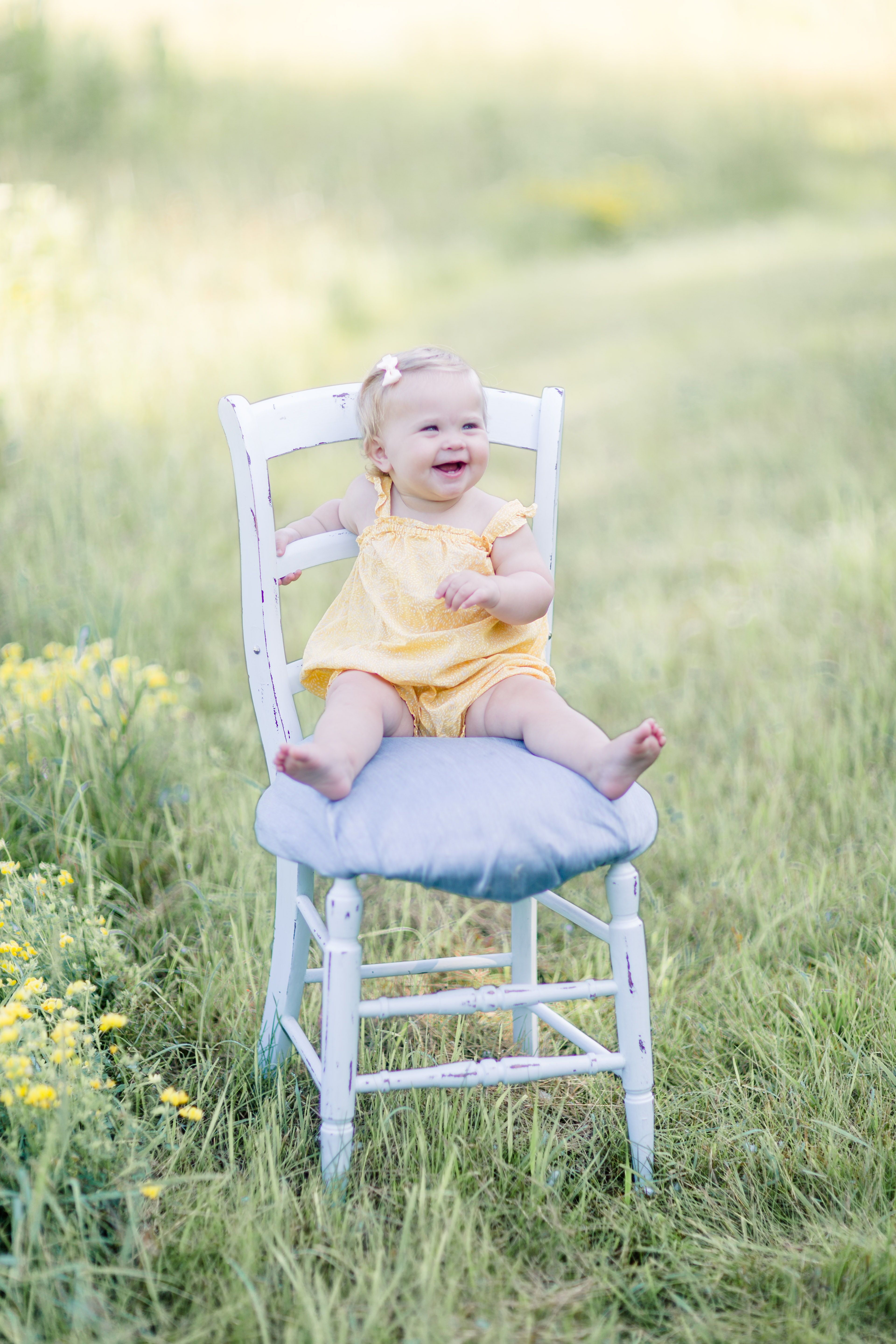 Fashion style Wear to what for 1-year old portraits for girls