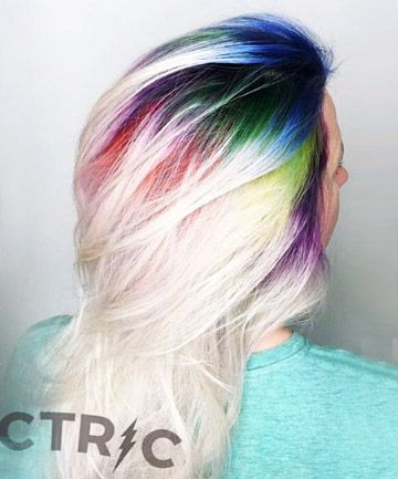 14 Colorful Roots That Will Make You Feel Like Rainbow Brite With
