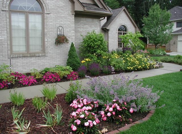 Perennial Flower Bed Design Perennial flower bed designs Home