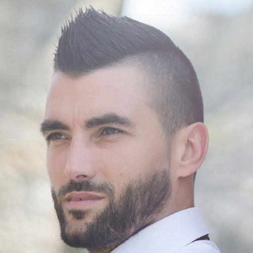 Spiky Mohawk Undercut Mohawk Hairstyles Men Mohawk For Men Mens Hairstyles Short